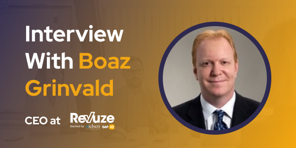 CXBuzz Interview with Boaz Grinvald CEO at Revuze