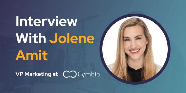 CXBuzz Interview with Jolene Amit VP Marketing at Cymbio