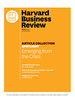 Harvard Business Review: Emerging from the crisis