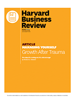 Harvard Business Review: Growth after trauma
