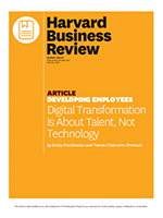 Harvard Business Review: Digital transformation is about talent, not technology