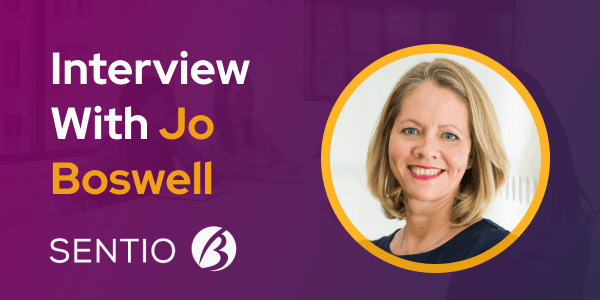 CXBuzz interview with Jo Boswell from Sentio-B