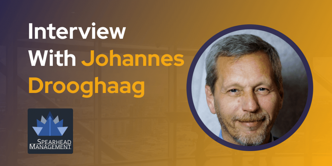 CXBuzz Interview With Johannes Drooghaag CEO at Spearhead Management