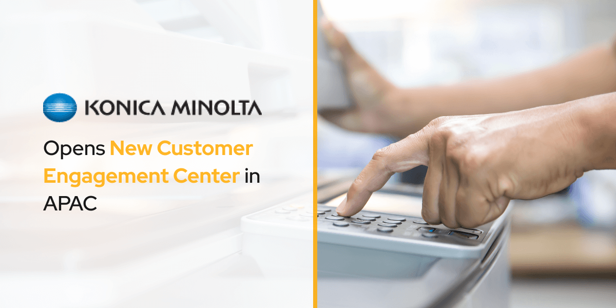 Konica Minolta opens Newest Customer Engagement Center in APAC