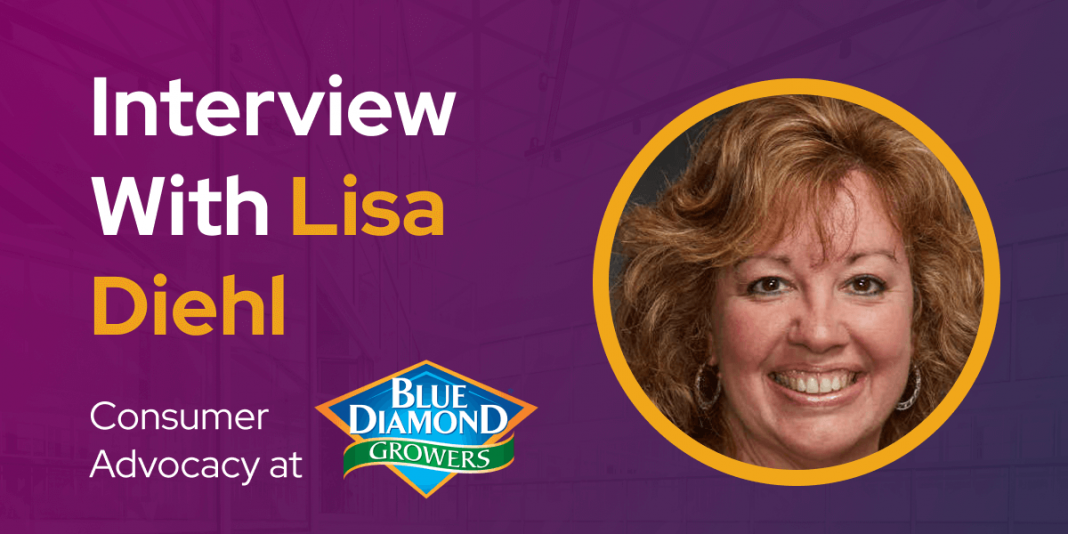 CXBuzz Interview With Lisa Diehl Manager Consumer Advocacy at Blue Diamond Growers