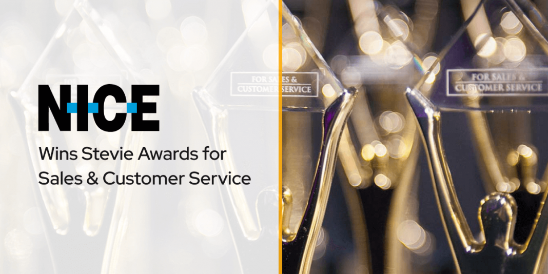 NICE inContact Wins Stevie Awards for Sales & Customer Service