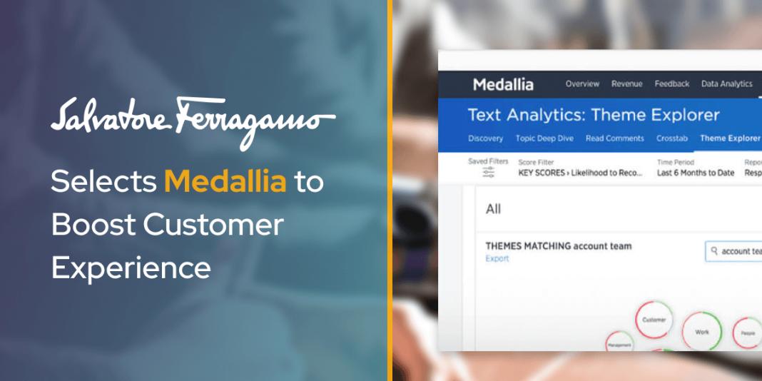 Salvatore Ferragamo Selects Medallia to Boost Customer Experience