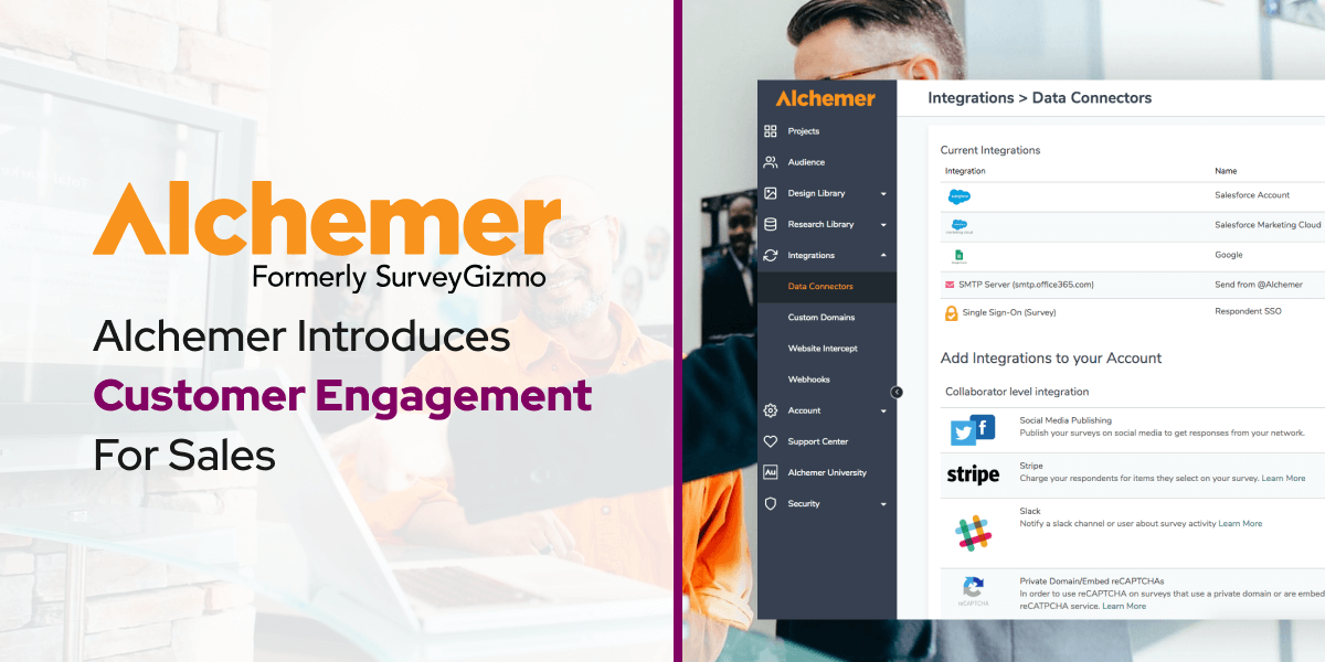 Alchemer Introduces Customer Engagement For Sales