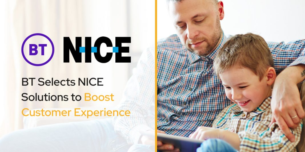 BT Selects NICE Solutions to Boost Customer Experience