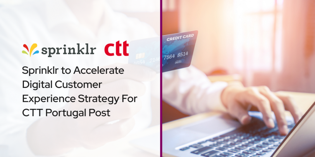Sprinklr to Accelerate Digital CX Strategy For Portugal Post