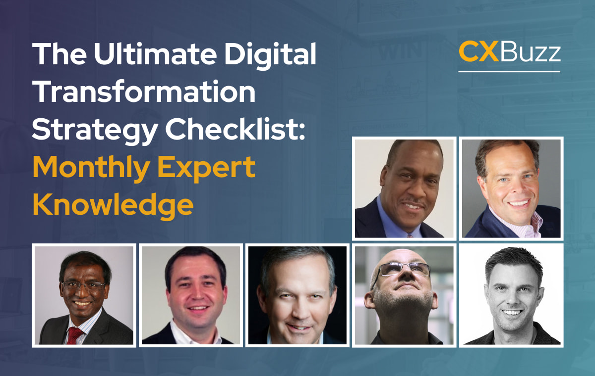 The Ultimate Digital Transformation Strategy Checklist: Monthly Expert Knowledge