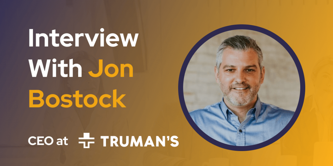 CXBuzz Interview With Jon Bostock, Co-Founder and CEO Truman's