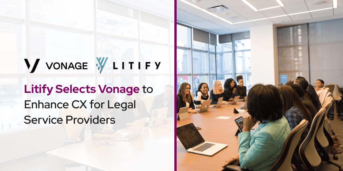 Litify Selects Vonage to Enhance CX for Legal Service Providers