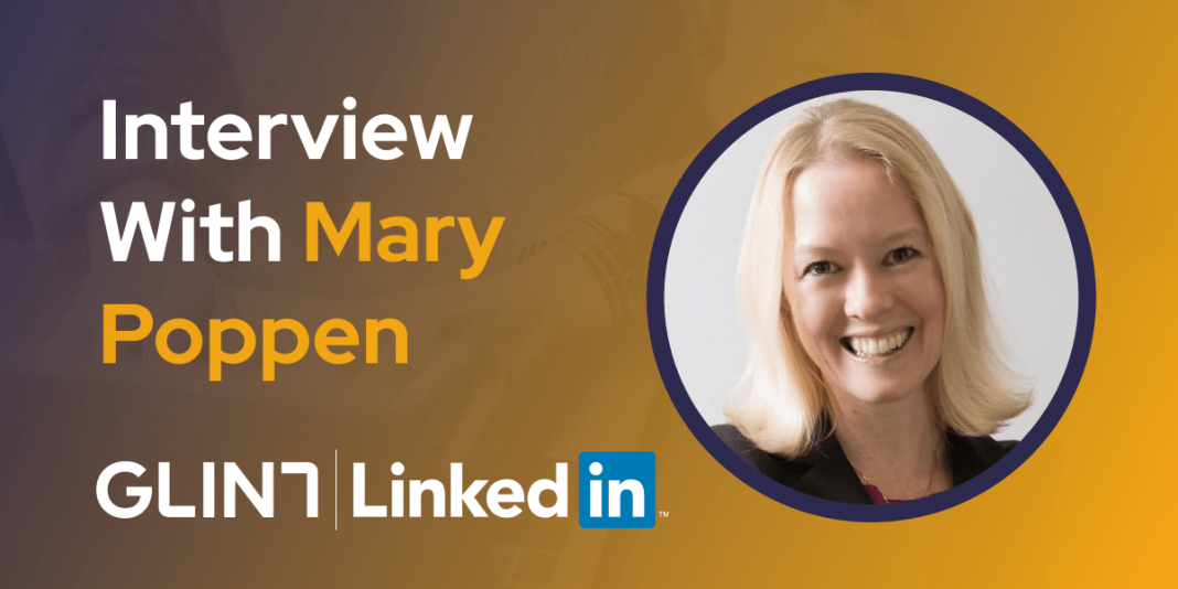CXBuzz Interview With Mary Poppen Chief Customer Officer for Glint at LinkedIn