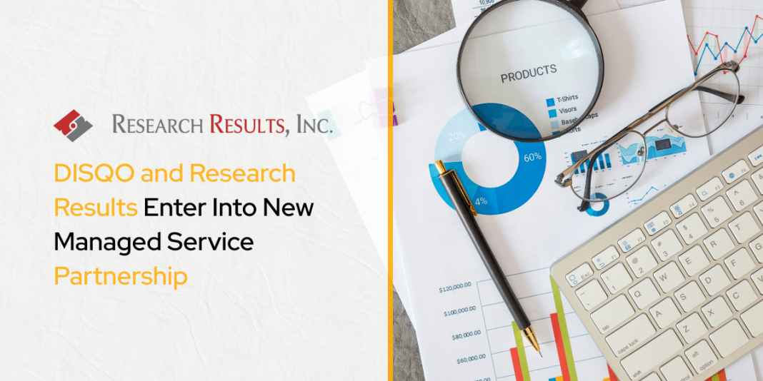DISQO and Research Results Enter Into New Managed Service Partnership