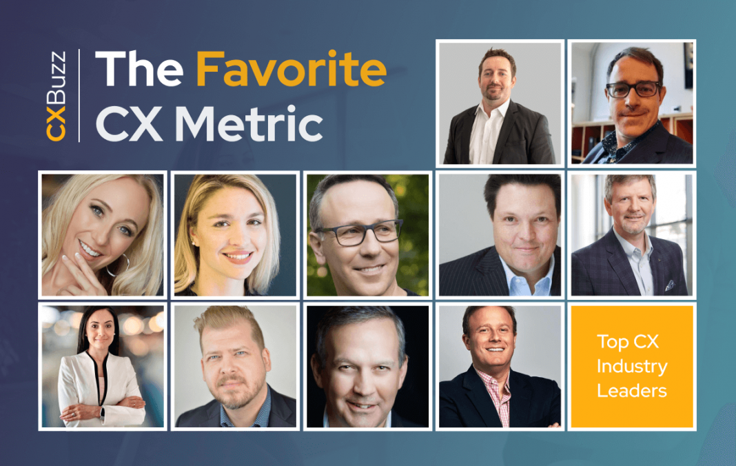 The Favorite CX Metric Of The Top CX Industry Leaders