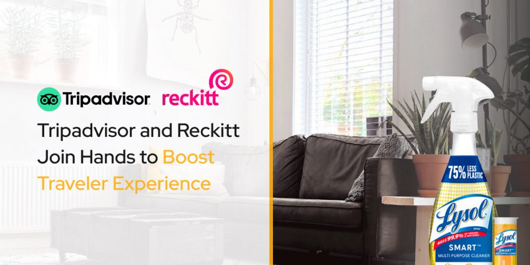Tripadvisor and Reckitt Join Hands to Boost Traveler Experience