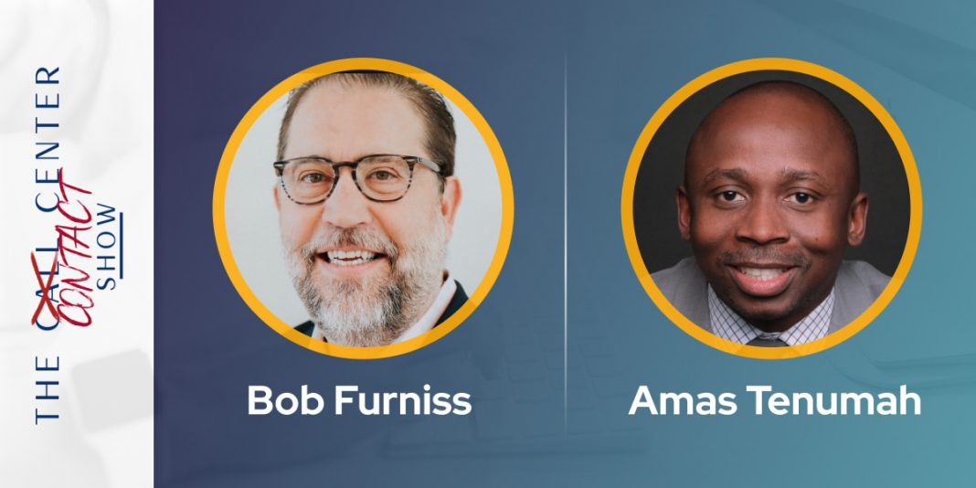 CXBuzz Interview With Bob Furniss and Amas Tenumah, Co-hosts at The Contact Center Show