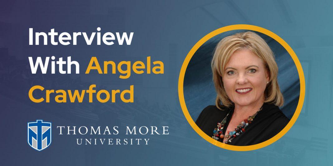 CXBuzz Interview With Angela Crawford, Vice President, Digital, Graduate & Professional Programs at Thomas More University