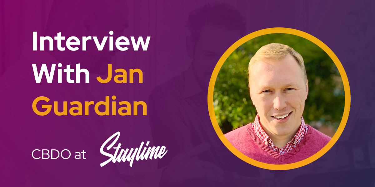 CXBuzz Interview With Jan Guardian, Chief Business Development Officer at Staylime