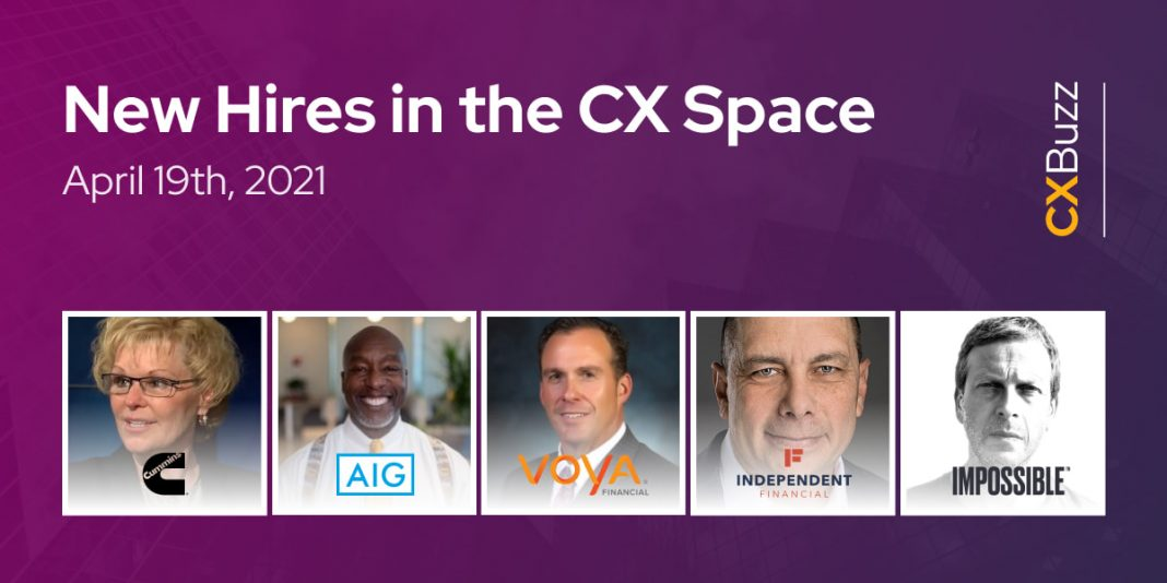New Hires in the CX Space: April 19th, 2021