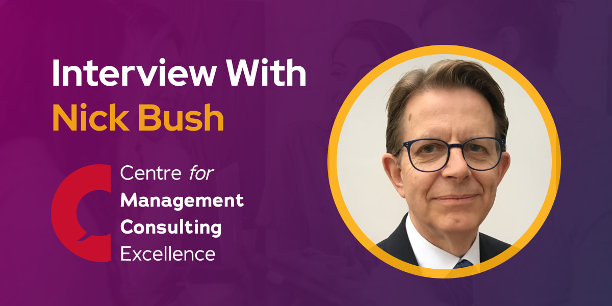 CXBuzz Interview with Nick Bush Director Centre for Management Consulting Excellence