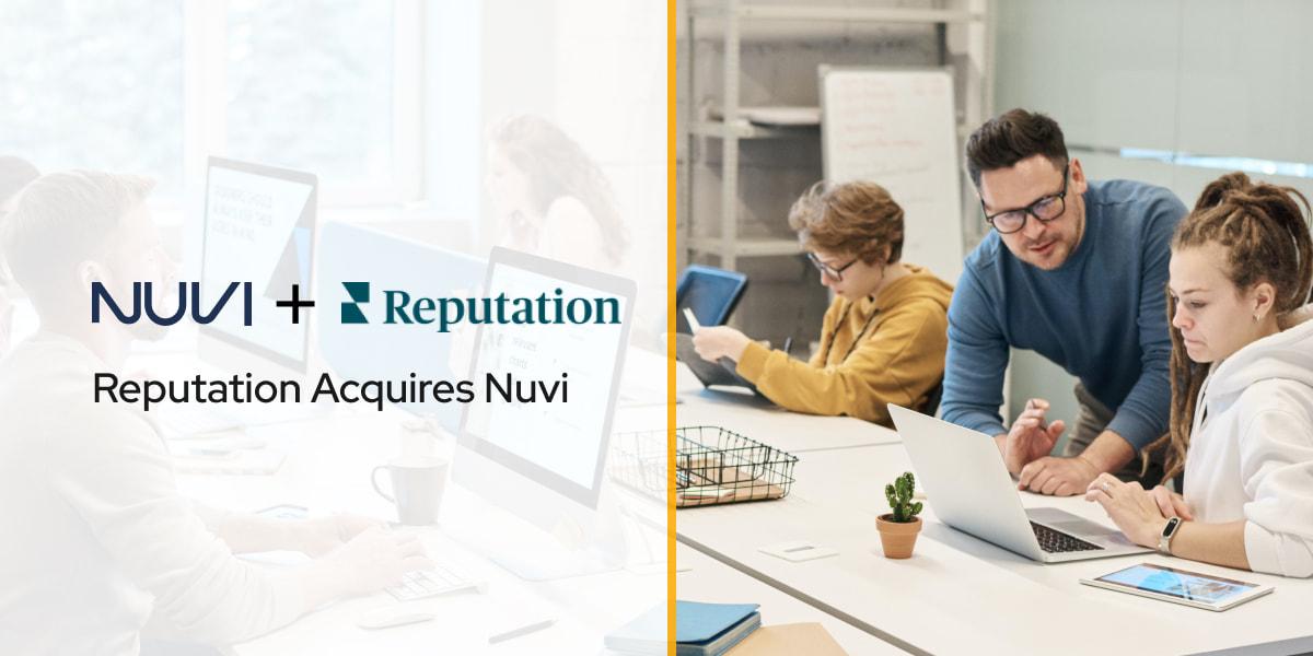 Reputation Acquires Nuvi
