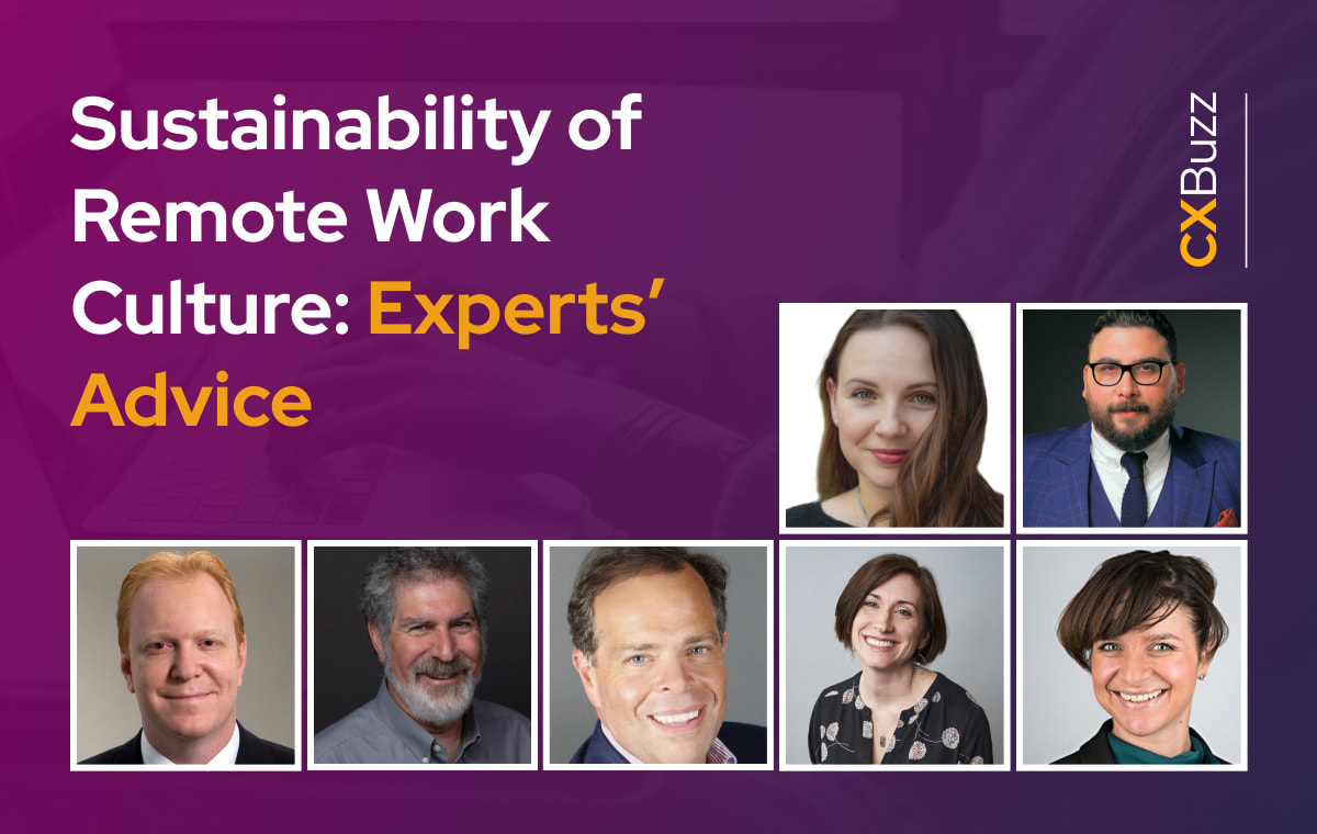 Sustainability of Remote Work Culture: Experts' Advice
