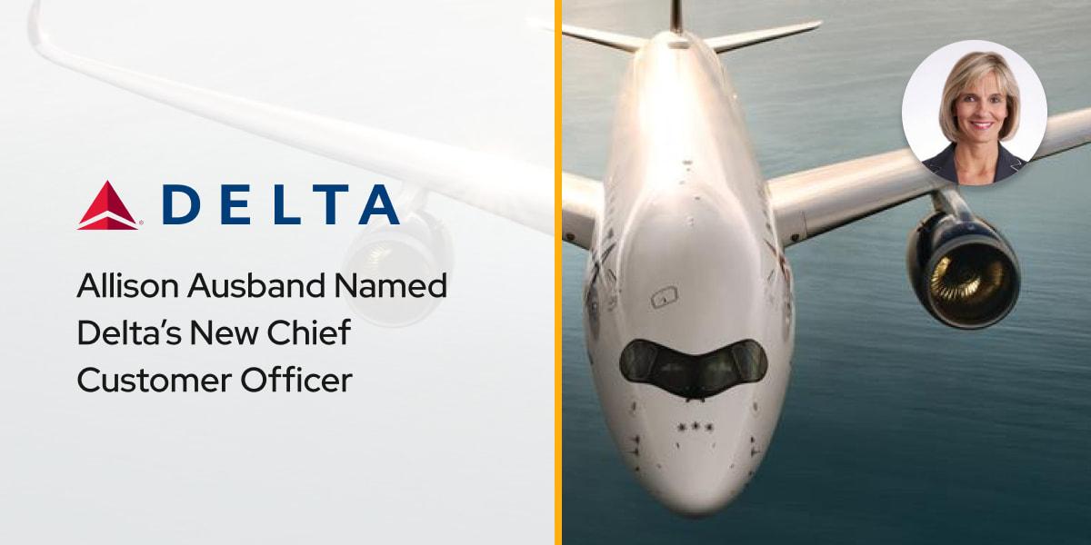Allison Ausband Named Delta's New Chief Customer Officer