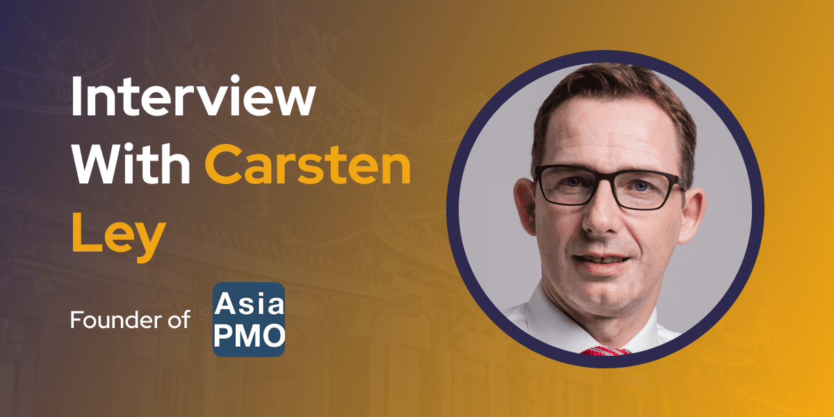 CXBuzz Interview With Carsten Ley, Founder of Asia PMO