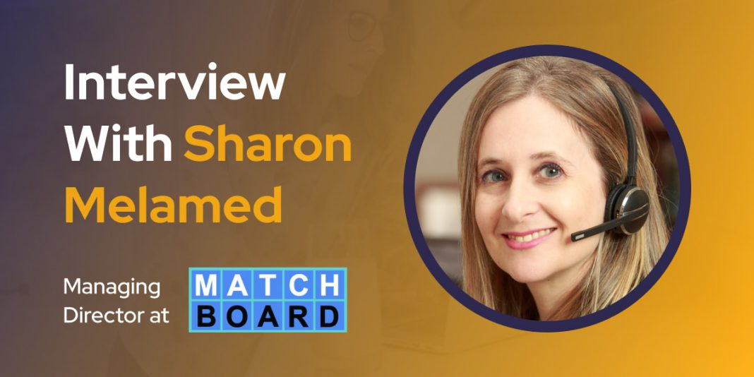 CXBuzz Interview With Sharon Melamed, Managing Director at Matchboard