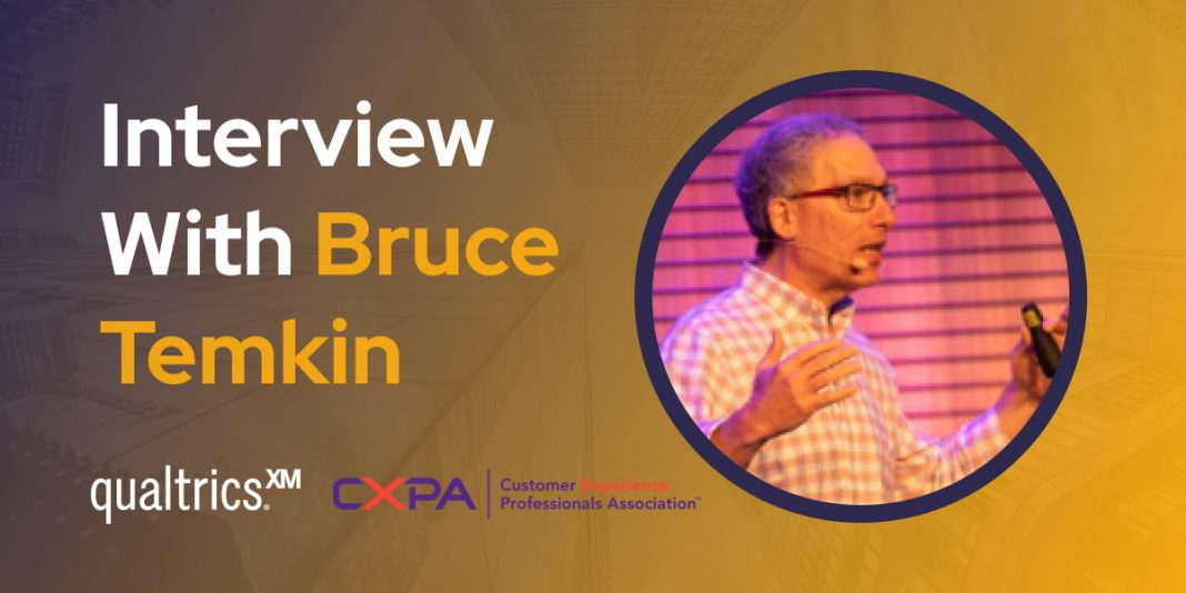 CXBuzz Interview With Bruce Temkin, Head of Qualtrics XM Institute, and Co-Founder of CXPA.org