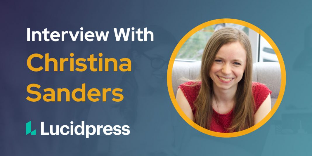 CXBuzz Interview With Christina Sanders, Inbound marketing manager at Lucid