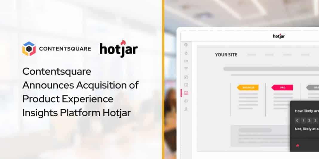 Contentsquare Announces Acquisition of Product Experience Insights Platform Hotjar
